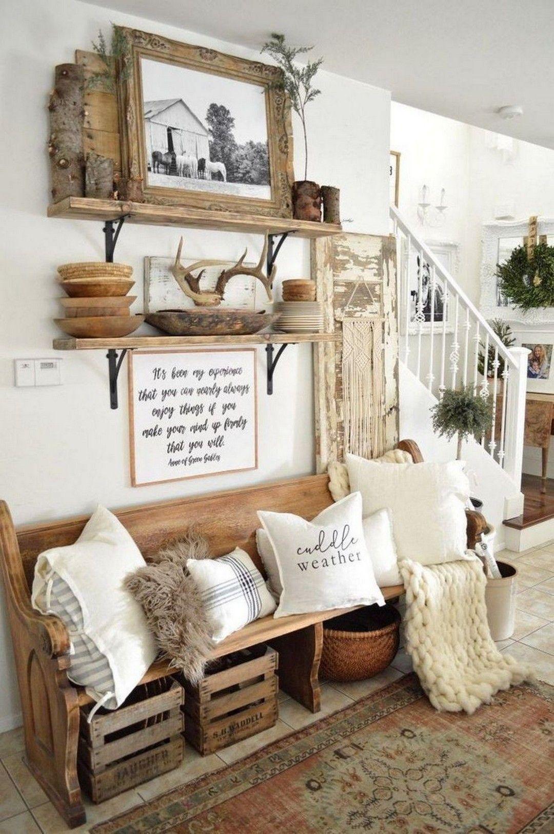 33 Rustic Farmhouse Decor Ideas images