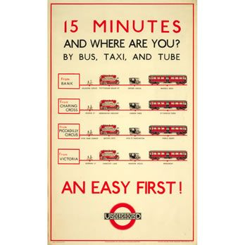 great posters from the london transport museum