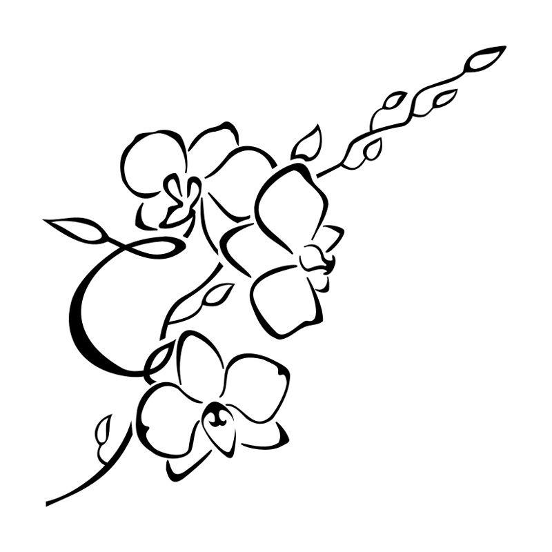 orchid body as a canvas pinterest tatouage tatouage. Black Bedroom Furniture Sets. Home Design Ideas
