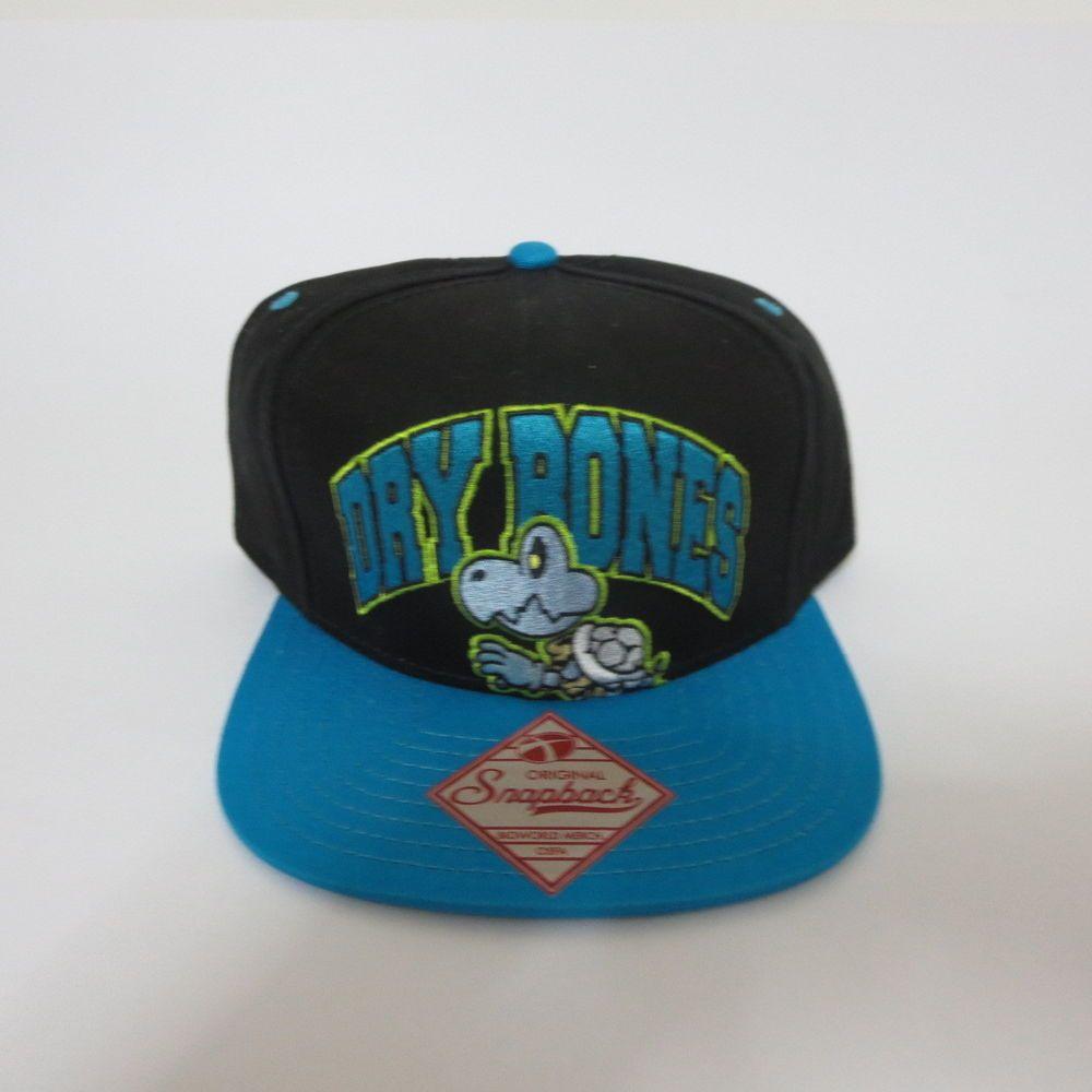 1951ab1bf31 Super Mario Nintendo Dry Bones Hat Cap Snapback COMICS COSTUME COSPLAY Hat   SuperMario  BaseballCap