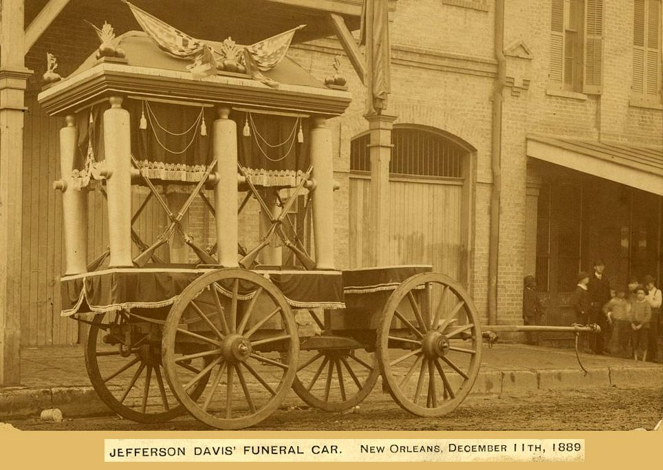 jefferson davis funeral train
