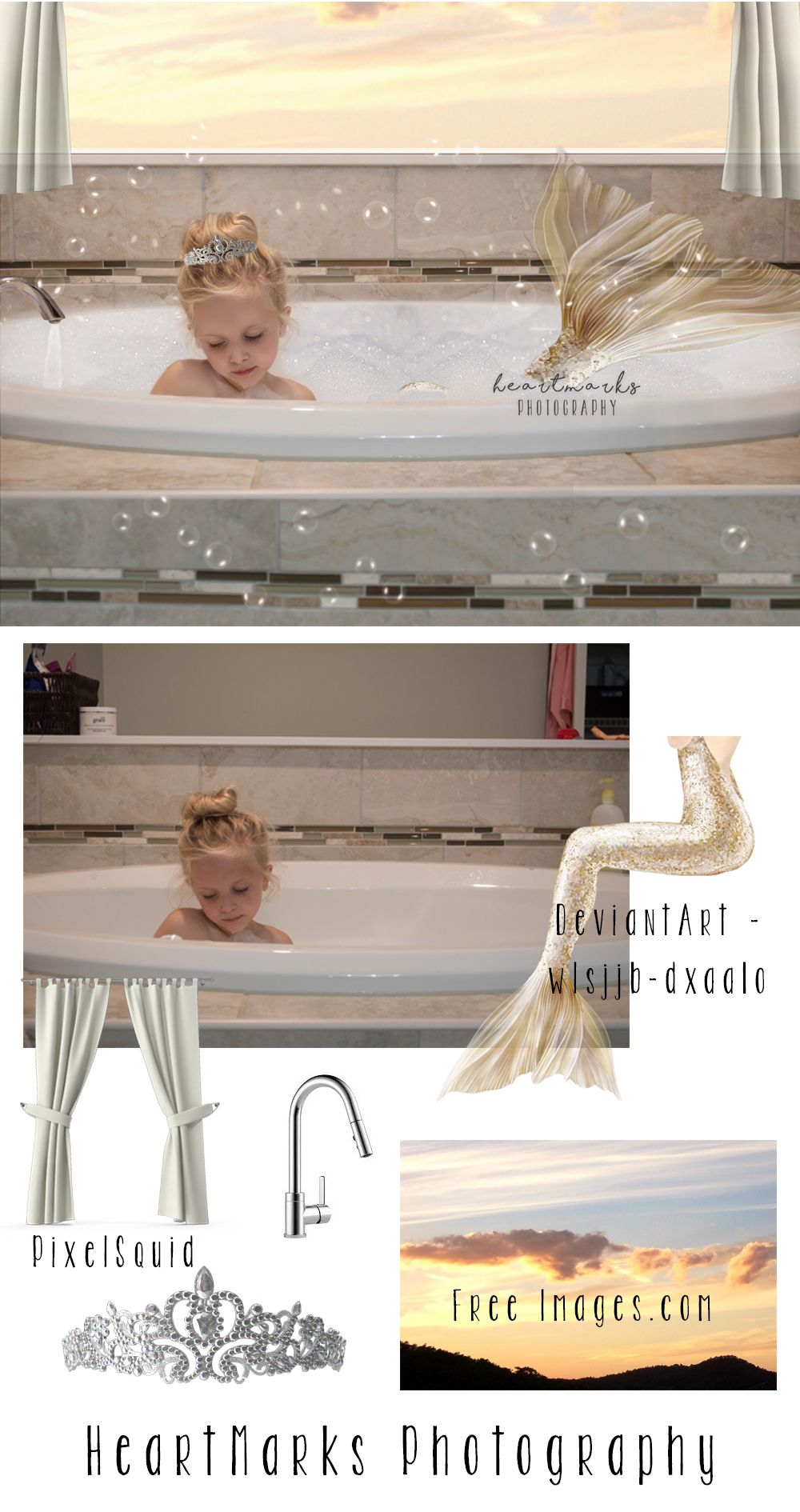 Always be a mermaid by heartmarks photography mermaid composite always be a mermaid by heartmarks photography mermaid composite tutorial with tara lesher photography baditri Images