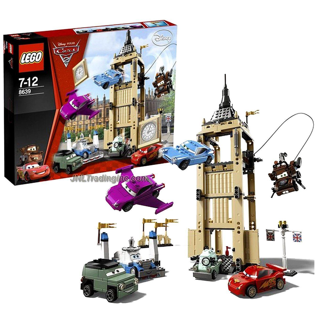 "Lego Disney Pixar ""Cars 2"" Set 8639 BIG BENTLEY BUST"