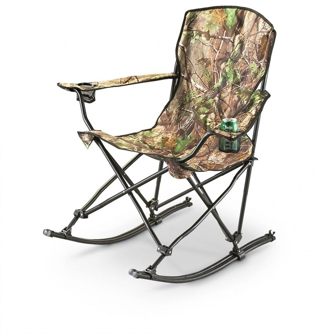 Cool Folding Rocking Chair Camping furnishings on Home