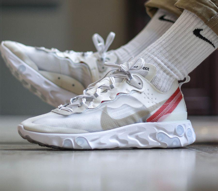 Buenas Ventas Vende Bien Hombre Nike React Element 87