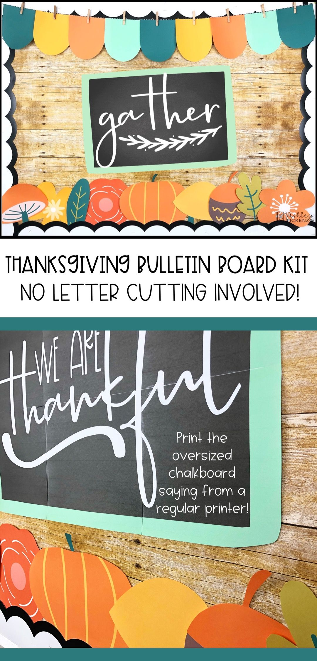 Thanksgiving Bulletin Board Kit