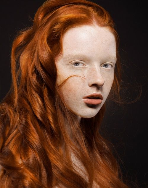 Redhead freckled lesbians