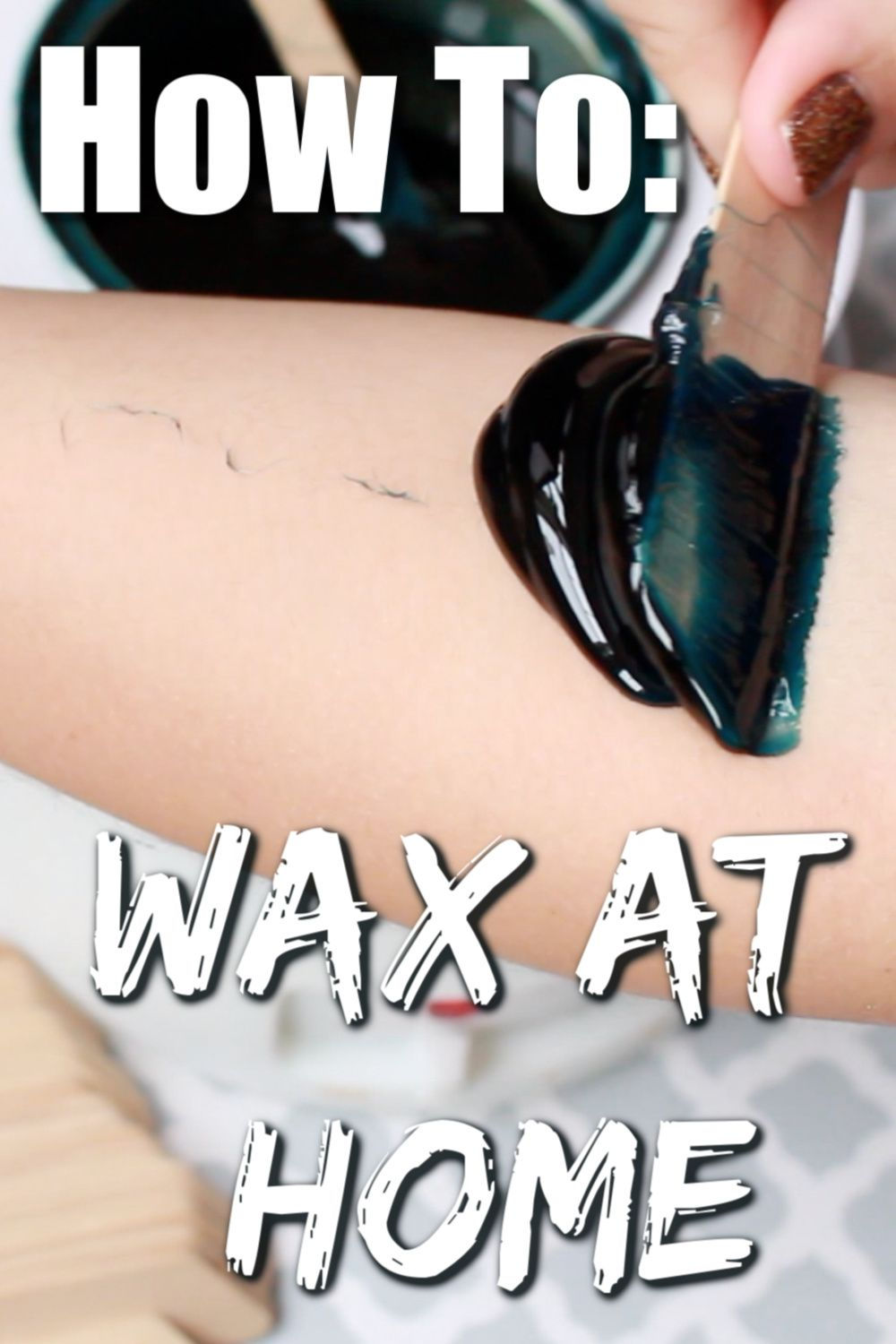 HOW I WAX AT HOME | How to Use Hard Wax | Step-by-Step ...