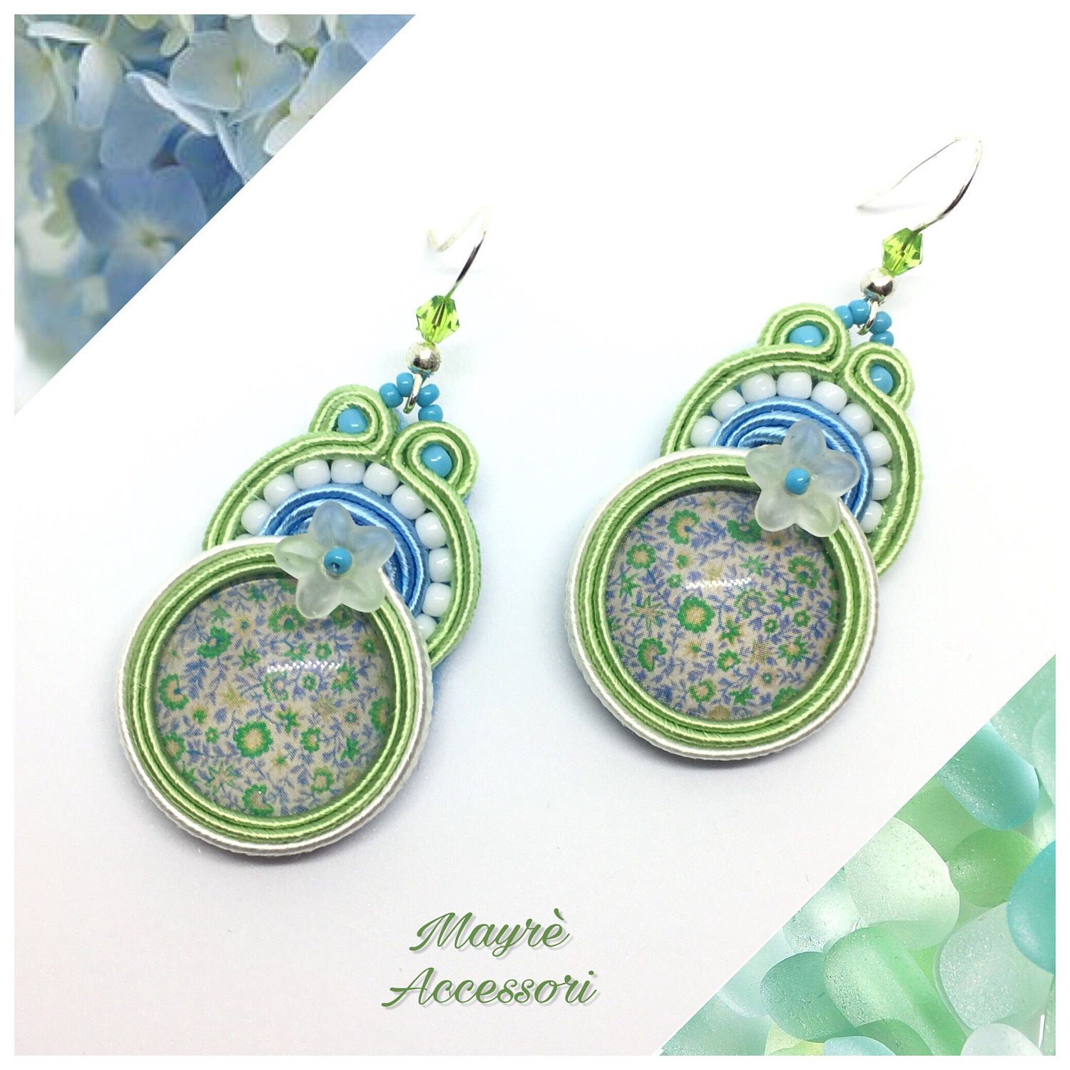 Un preferito personale dal mio negozio Etsy https://www.etsy.com/it/listing/523723703/soutache-earrings-orecchini-in-soutache