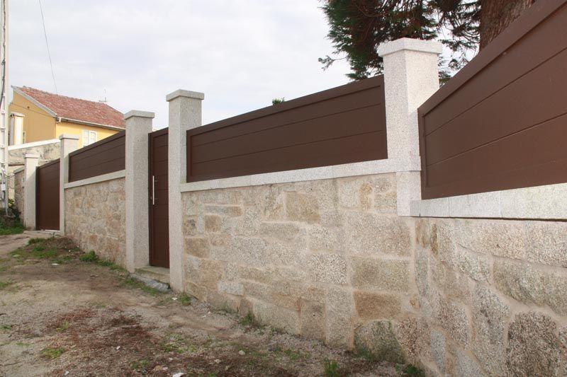 Cierre de fincas asturias buscar con google pared exterior cerramiento puertas - Cierres de madera para fincas ...