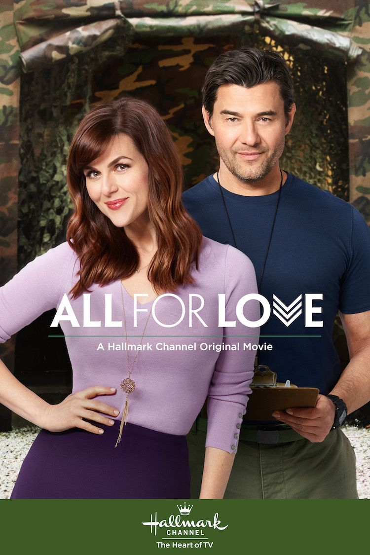 All For Love When a romance novelist (Sara Rue) is teamed