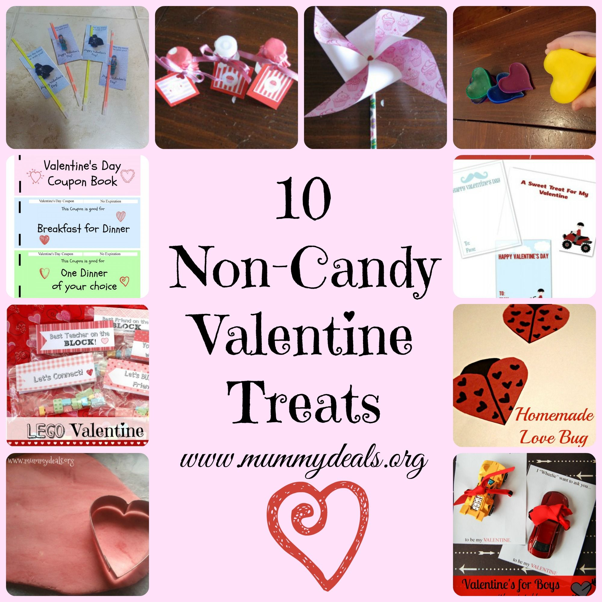 has your school banned candy or you dont want to give it no problem this list of 10 non candy valentine treats from mummy deals comes from a mom who