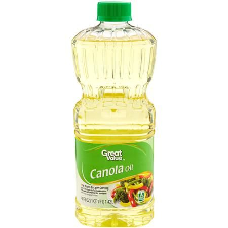 Canola Oil - Ingredients: Pure Canola Oil - good for frying peeled potatoes for potato chips