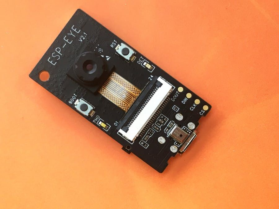 Matchbox-Sized P2P Remote Accessible Camera with ESP32