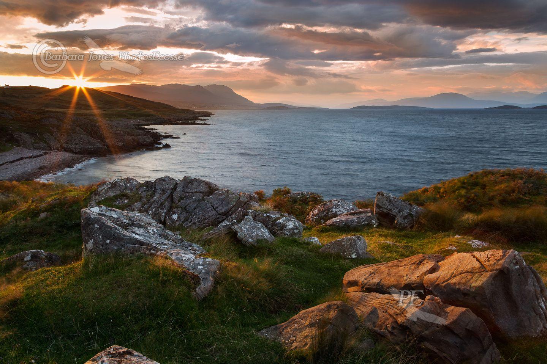 Sunrise from Polbain. Coigach. North West Highlands. Scotland.