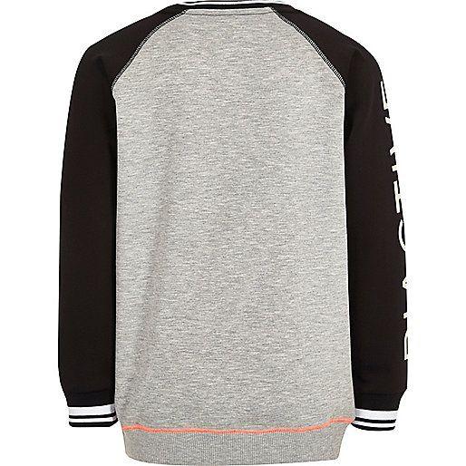 Boys RI Active grey sports sweatshirt - hoodies / sweatshirts - sale - boys