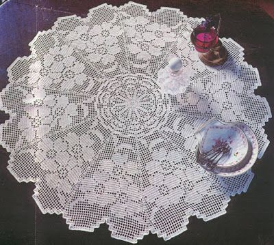 beautiful doily (Crochet Knitting Handicraft) | TEJIDOS ...