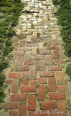 Photo of Brick path stock image. Image of details, brick, pathway – 3191261