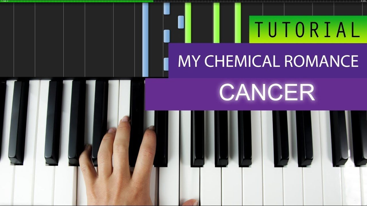 My Chemical Romance Cancer Piano Tutorial Nevertone
