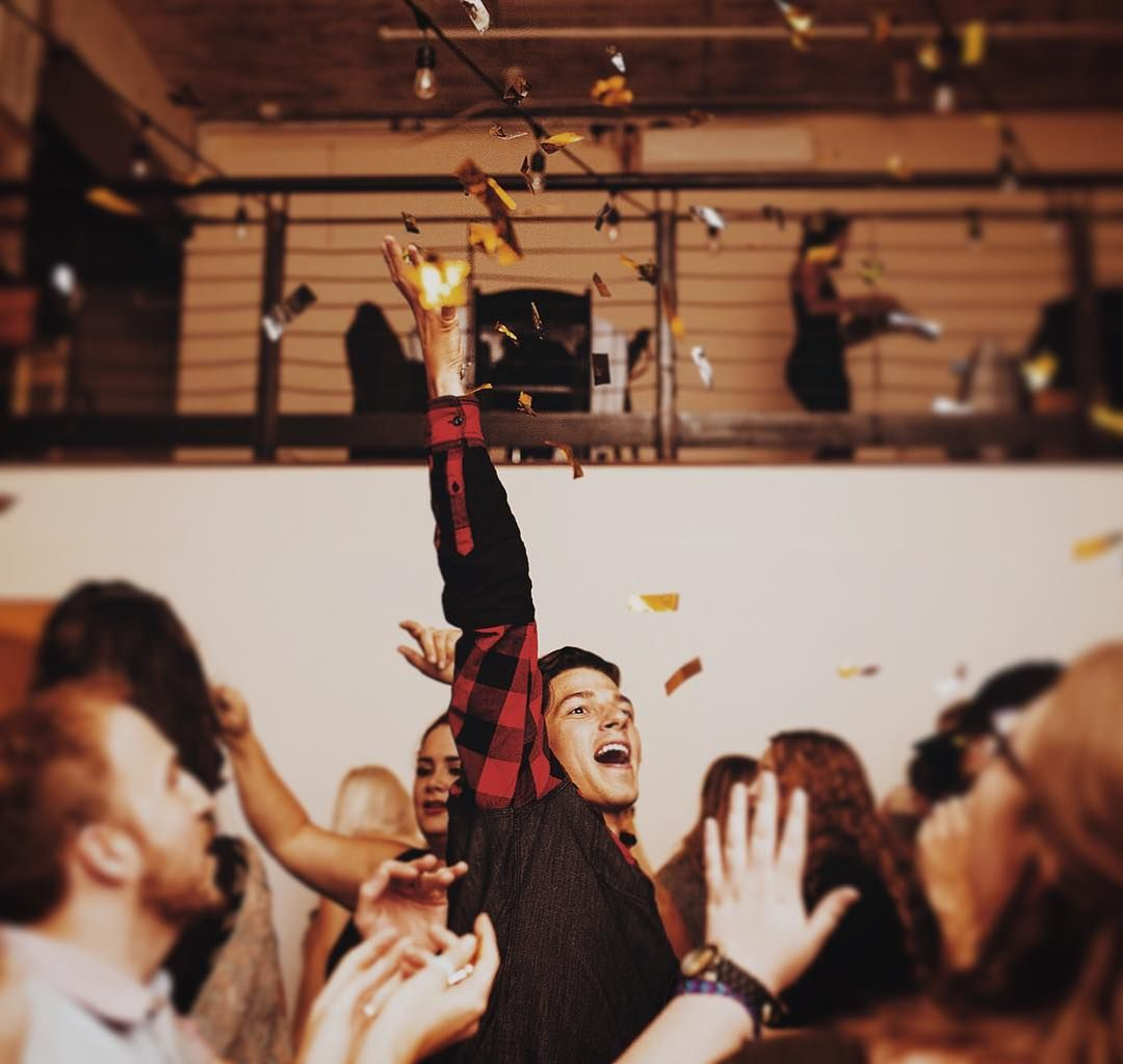 This is how I party. Last week is one for the books. I