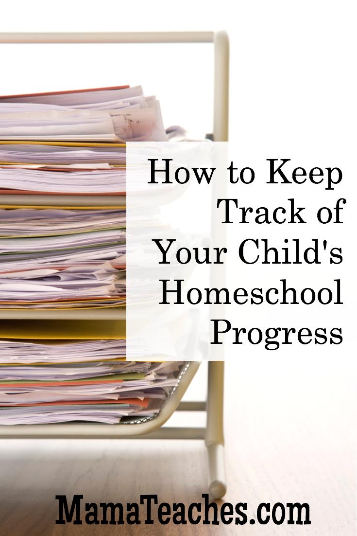 3 Tips for Keeping Track of Homeschool Progress ...