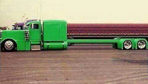Peterbilt 379 With A Streched Frame With Images Trucks Big