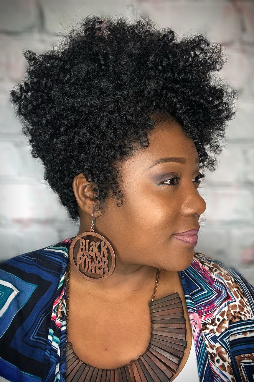These Are The 14 Most Gorgeous Crochet Hairstyles To Rock This Year Curly Crochet Hair Styles Crochet Hair Styles Short Curly Crochet Hair