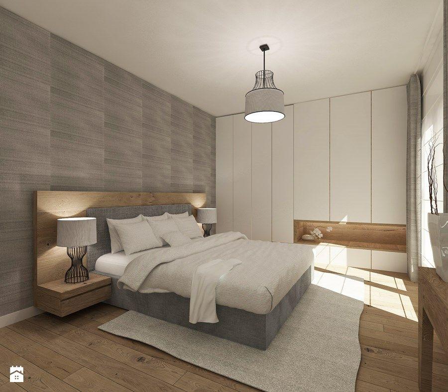 Aranżacje wnętrz - Sypialnia: Średnia sypialnia małżeńska, styl nowoczesny - 4ma projekt ...