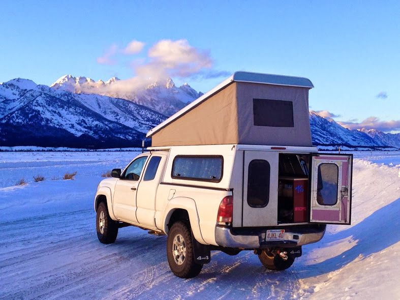 Tacoma Aluminum Pop Up Expedition Portal Pop Up Truck Campers