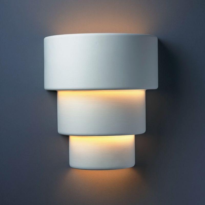 Justice Design Group CER-2235-BIS-LED-2000 Ambiance 12.75