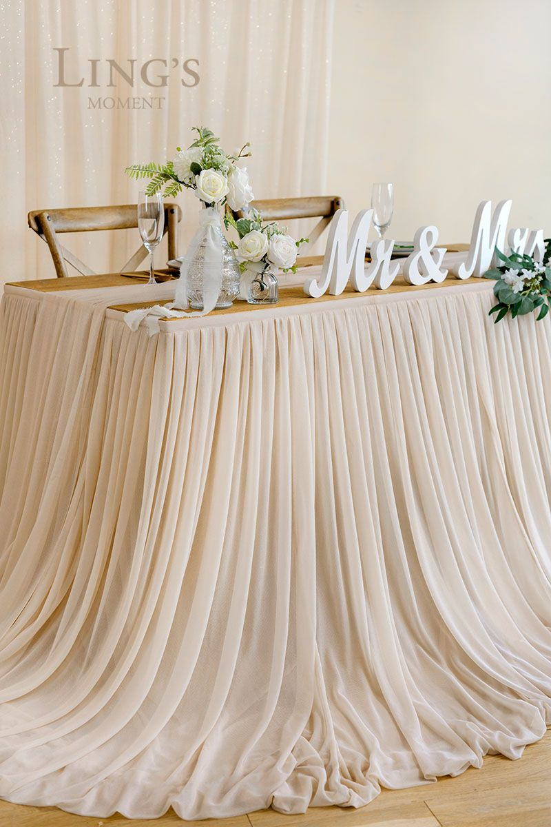 Extra Long Pooling Table Skirt 14 Styles In 2020 Head Table