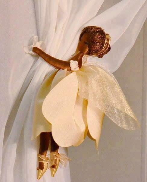 Curtain Holder Fairy Curtain Tie Backs Diy Fairy Dolls Curtain
