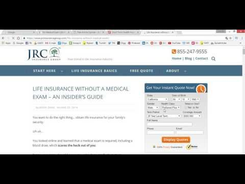 No Medical Exam Life Insurance Free Quotes Medical Insider Guide