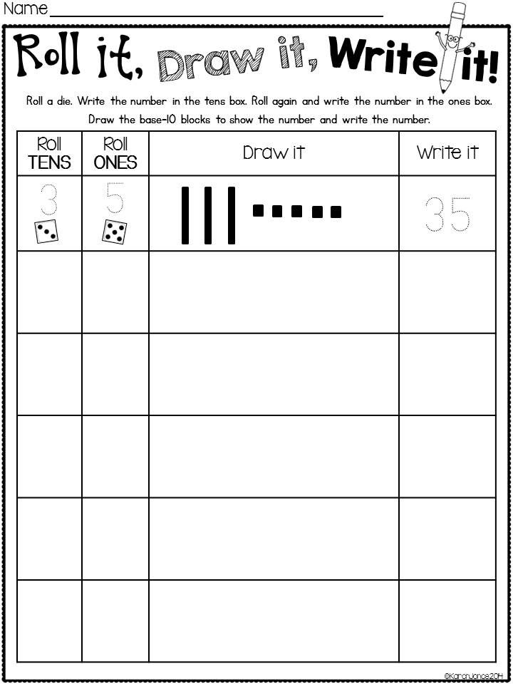 It is a picture of Fan Place Value Games Printable