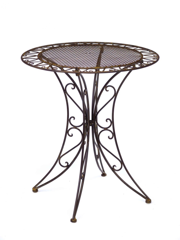 Vintage Wrought Iron Table And Chairs Gartentisch Eisentisch Schmiedeeisen
