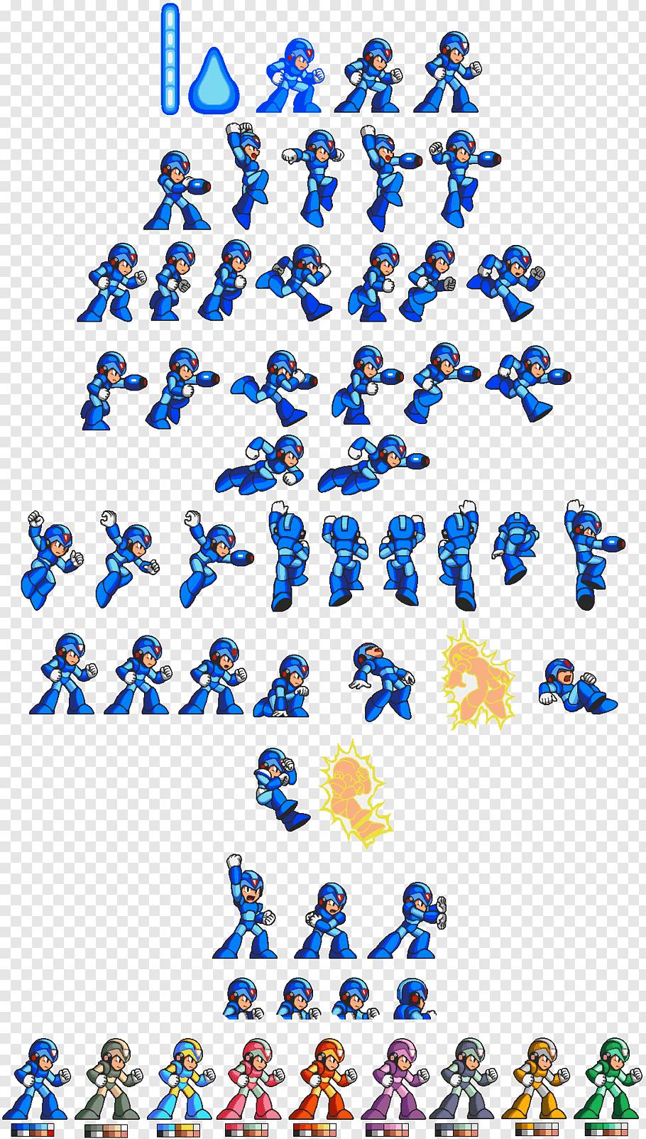 Megaman Illustration Mega Man X Sprite Pixel Art Characters Pixel Art Game Character Design
