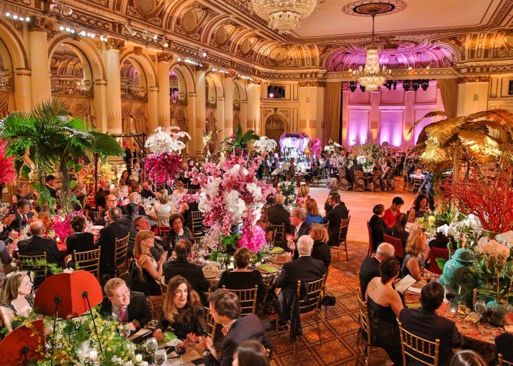 The Orchid Dinner for the New York York Botanical Garden. Courtesy of BFA.