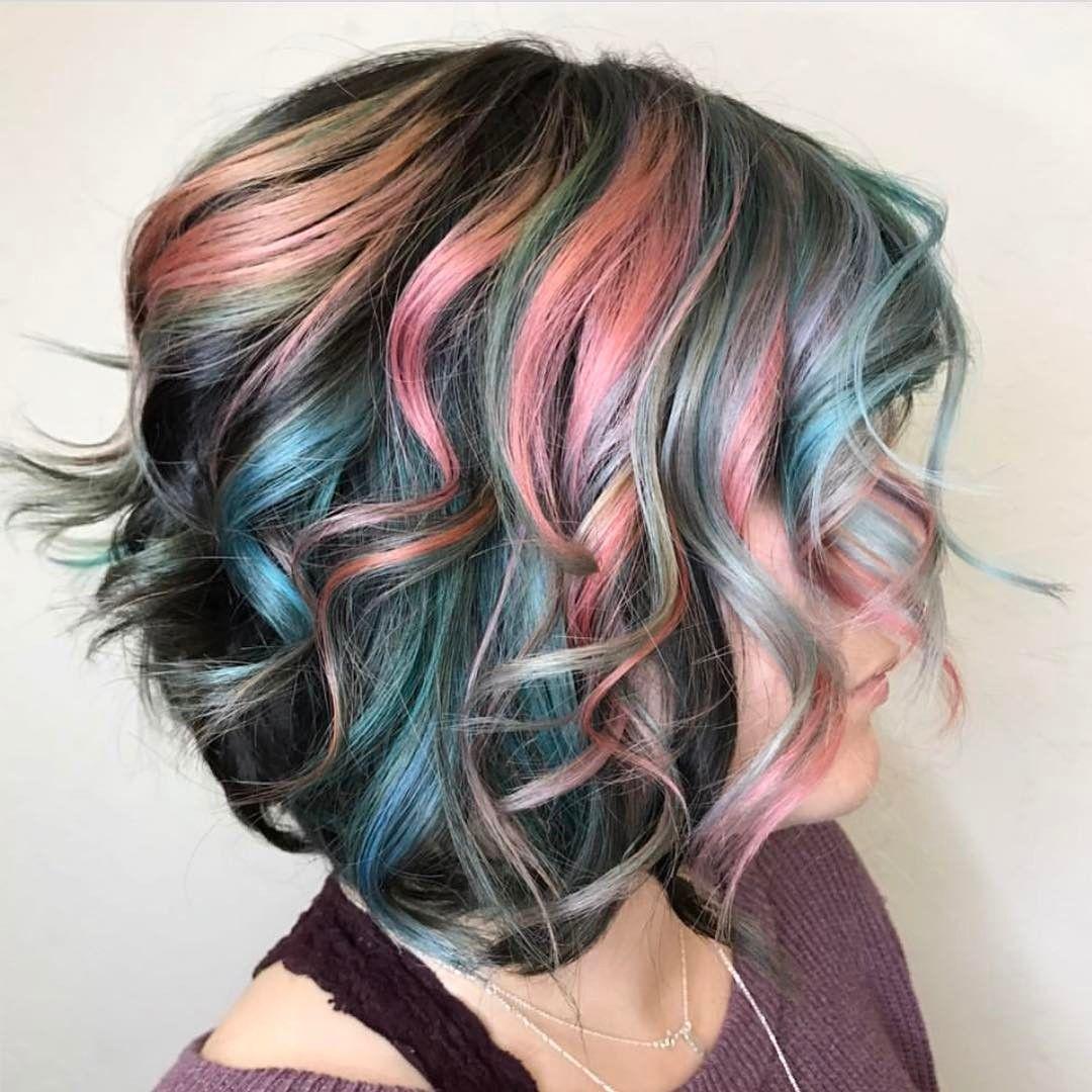 IG: bunny_rae | Hair styles, Dyed hair, Gorgeous hair color