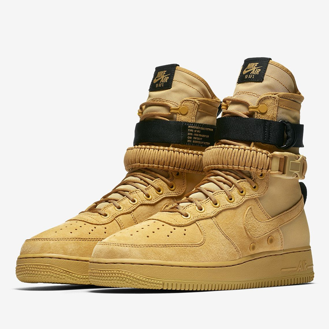 The Nike SF AF1 Returns This Fall In Wheat Colorway | Nike