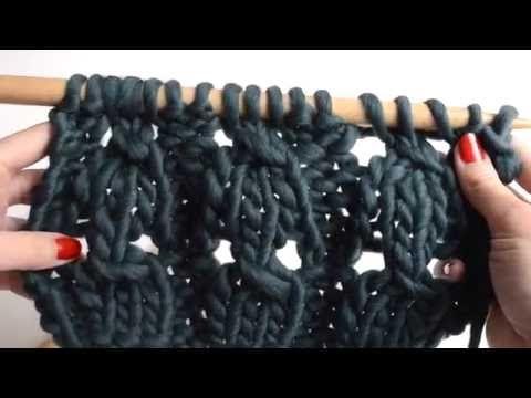 eine geflochtene rippe stricken stricken f r anf nger we are knitters youtube. Black Bedroom Furniture Sets. Home Design Ideas
