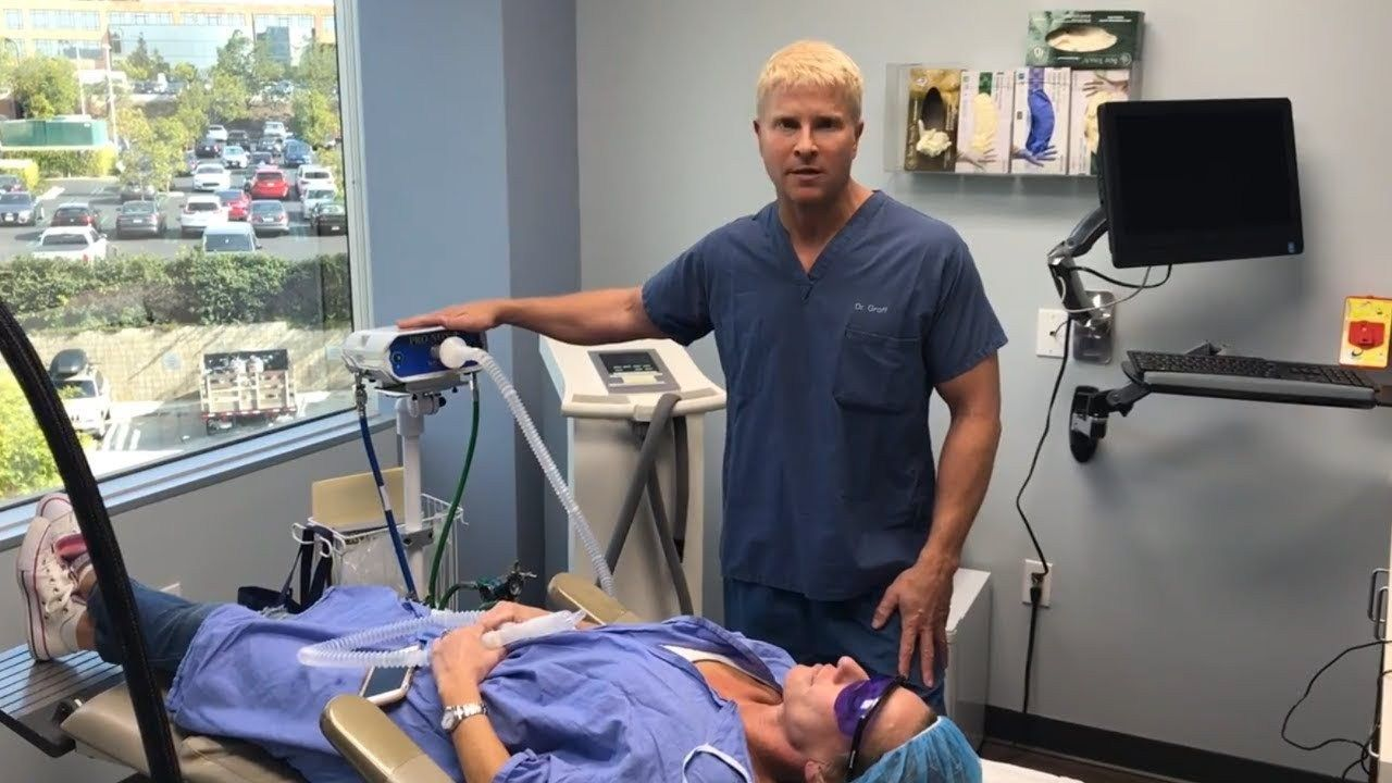 Dr Groff Demonstrates The Pro Nox Nitrous Oxide System Watch