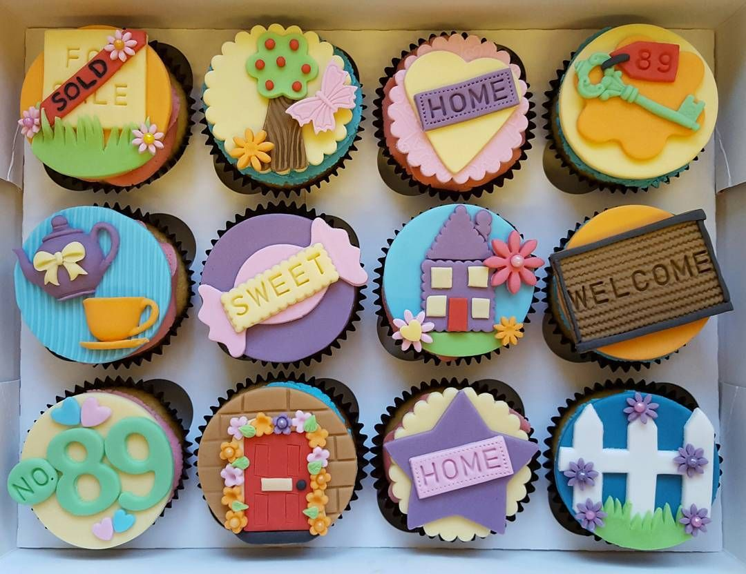 New Home Cupcakes For Some Lucky Neighbours