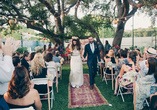 Colorful Bohemian Wedding Browse Party Ideas