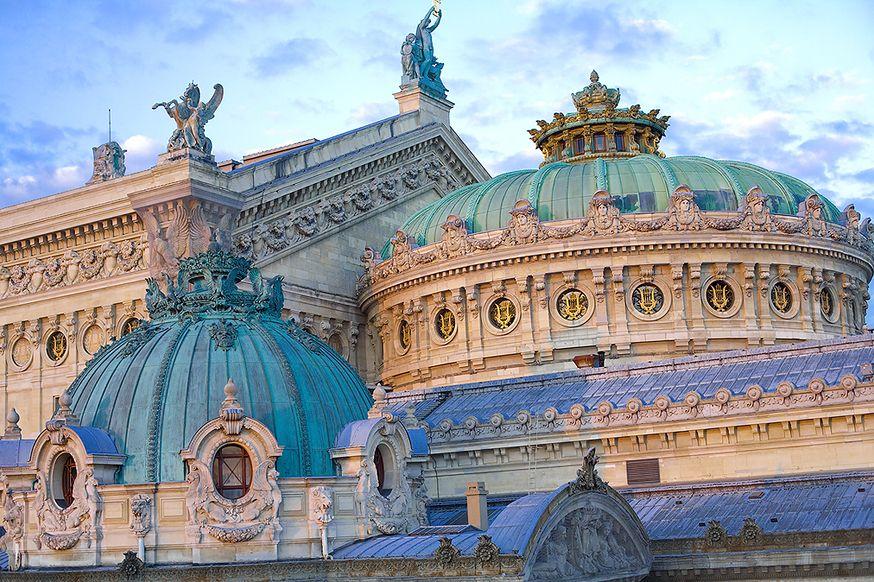 """thestandrewknot: """" Opéra Garnier, Paris. """""""