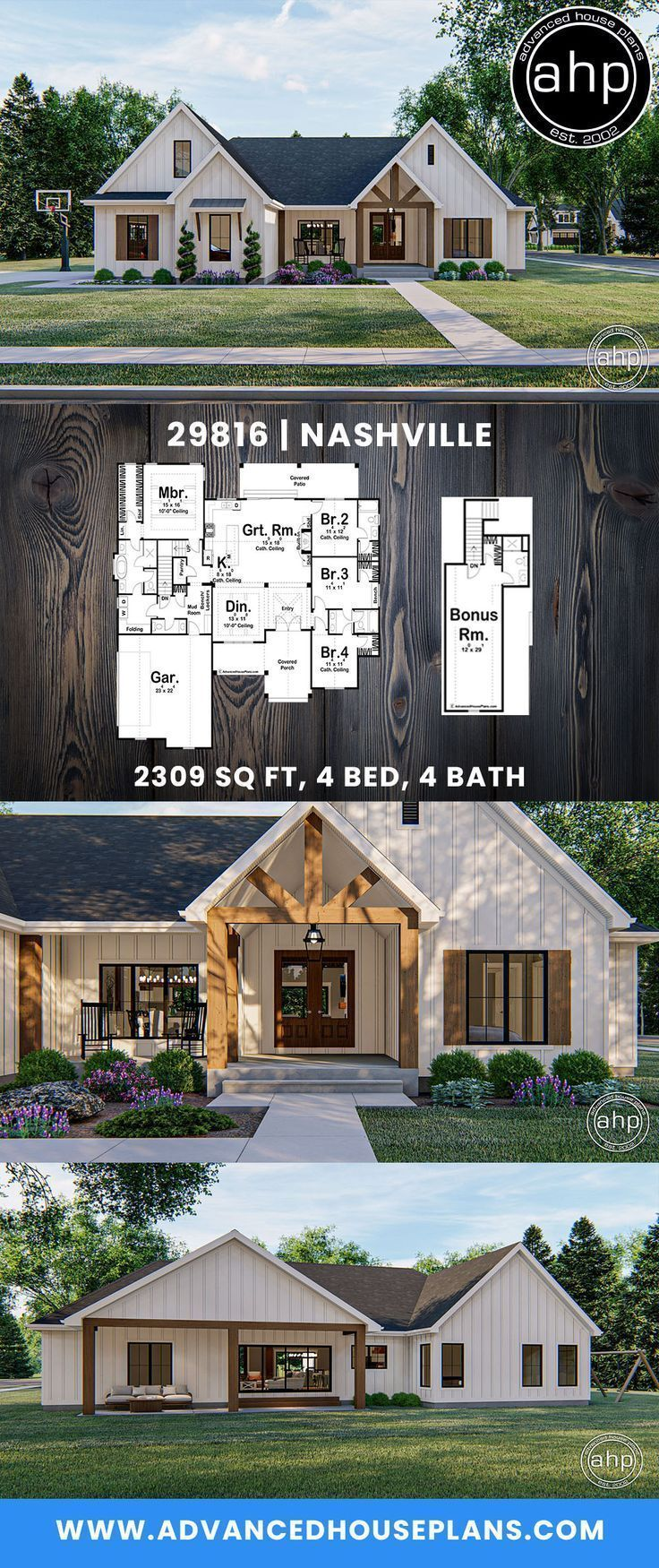 5 Simple Farmhouse Modern Floorplan Projects S Were Built They Could Be Made Of Stone Bric House Plans Farmhouse Farmhouse Style House Plans New House Plans