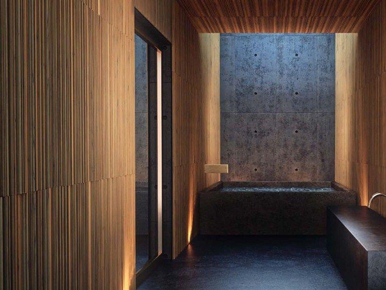 rev tement mural acoustique effet bois modulatus woodn industries appart parement mural. Black Bedroom Furniture Sets. Home Design Ideas