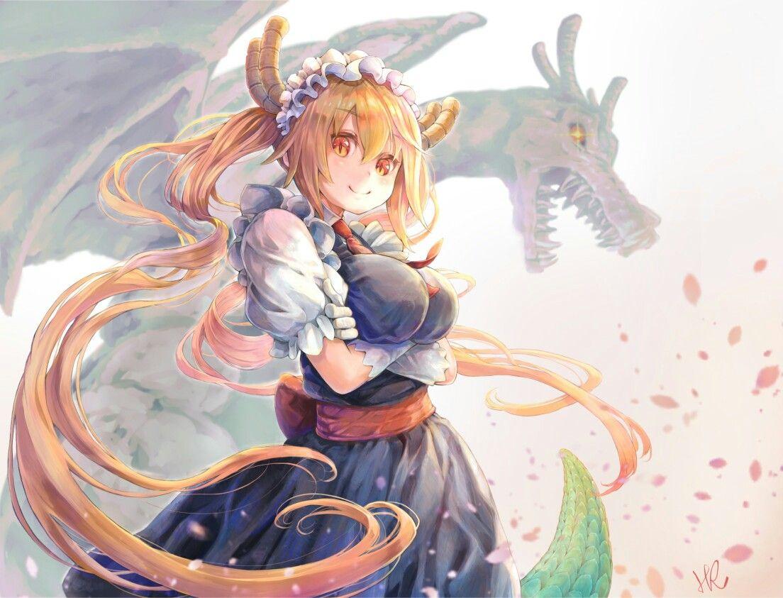 Anime Drachenmädchen