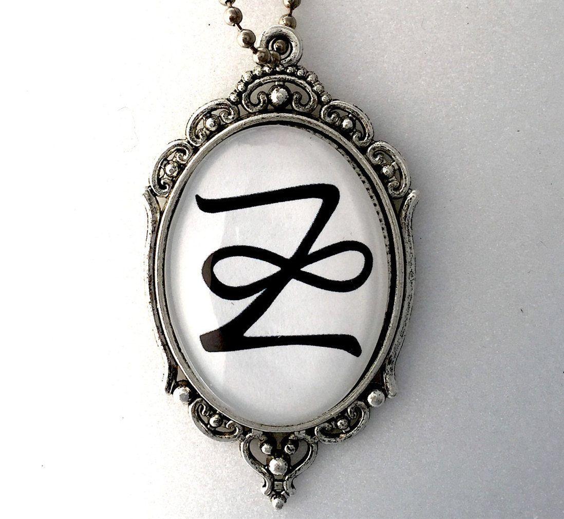 Zonar reiki symbol pendant 2 sided with reiki principles on back reiki symbols buycottarizona