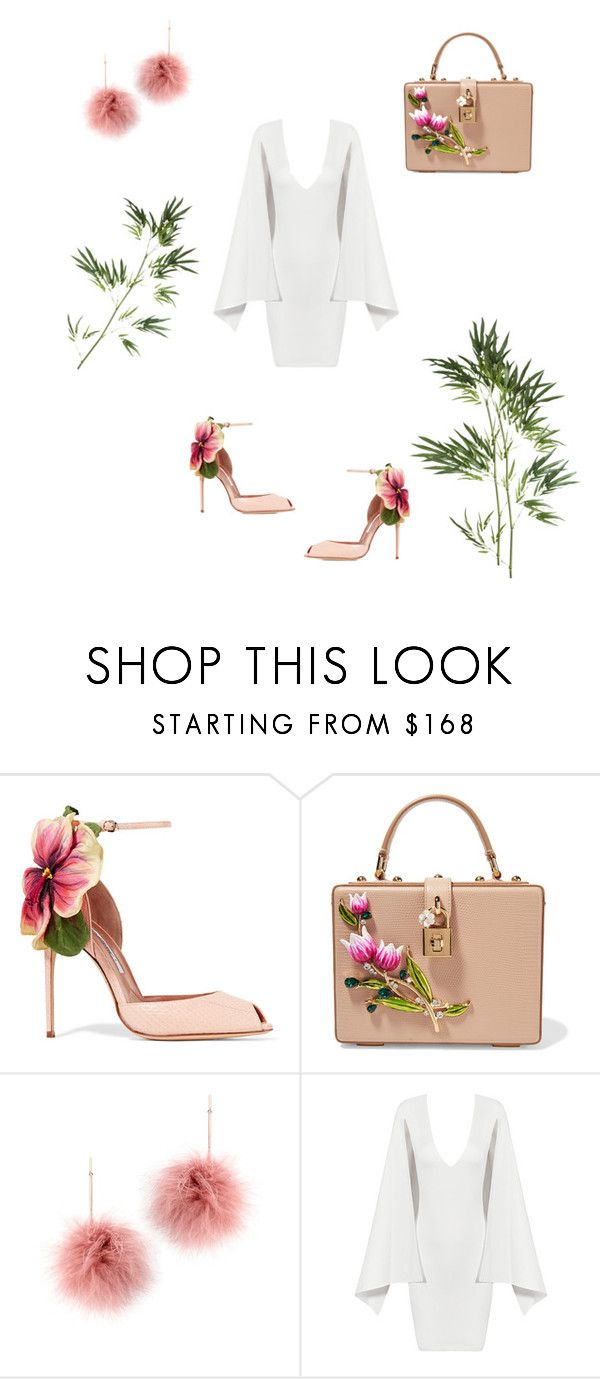 """Untitled #155"" by fefe-tifanie ❤ liked on Polyvore featuring Brian Atwood, Dolce&Gabbana, Tuleste, Posh Girl and Pier 1 Imports"