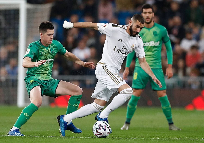 Real Madrid 3 4 Real Sociedad Copa Del Rey 6 02 2020 In 2020 Real Madrid Running Madrid
